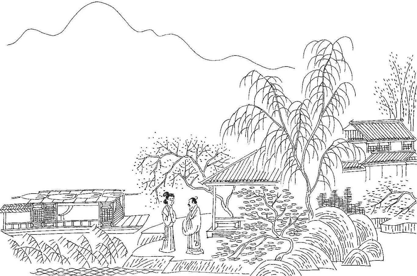 双调·落梅风·答卢疏斋(山无数)